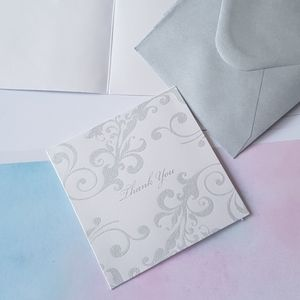 """🆕 NEW 24 pcs Thank You Cards 4""""x4"""" inches"""